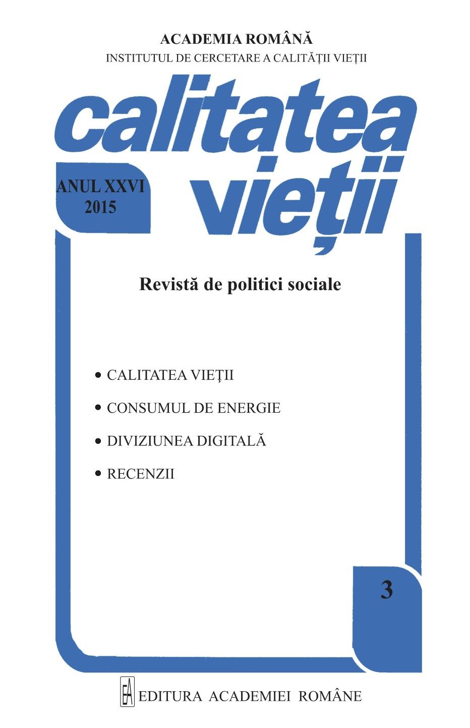 View Vol. 26 No. 3 (2015)