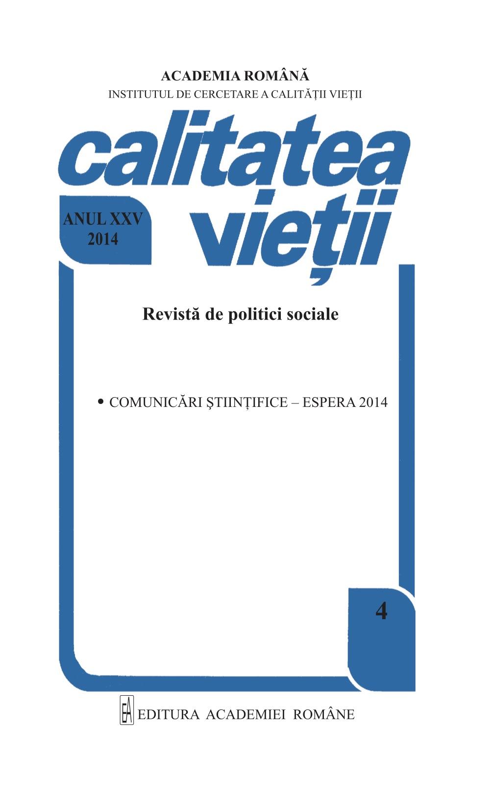 View Vol. 25 No. 4 (2014)